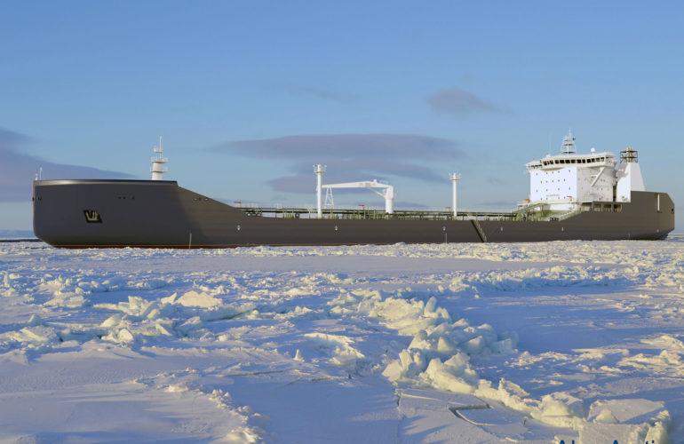 Arctic Condensate Tanker