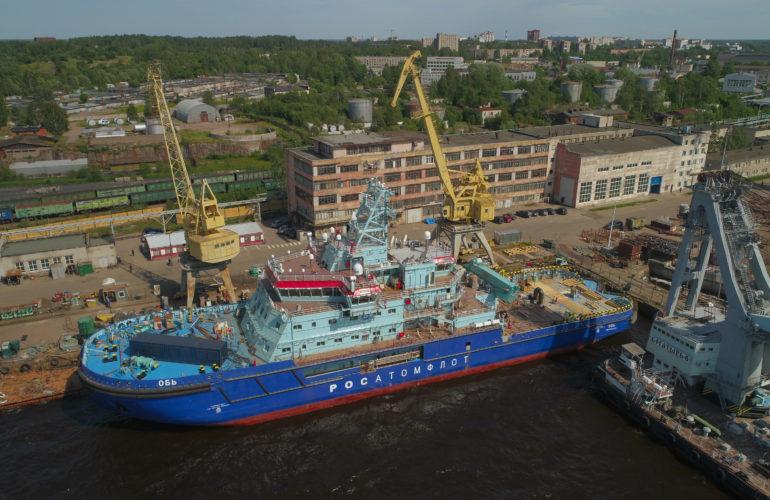 Photo: Vyborg Shipyard. June 2019
