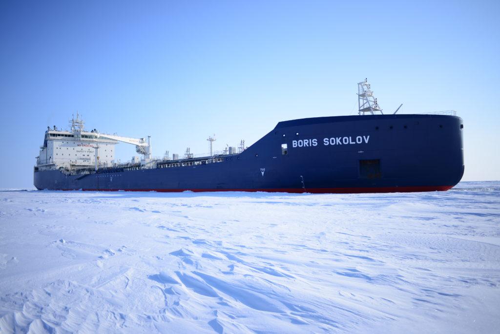 Arctic LNG tanker Boris Sokolov