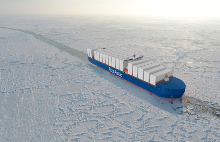 Aker ARC 220 Container Ship