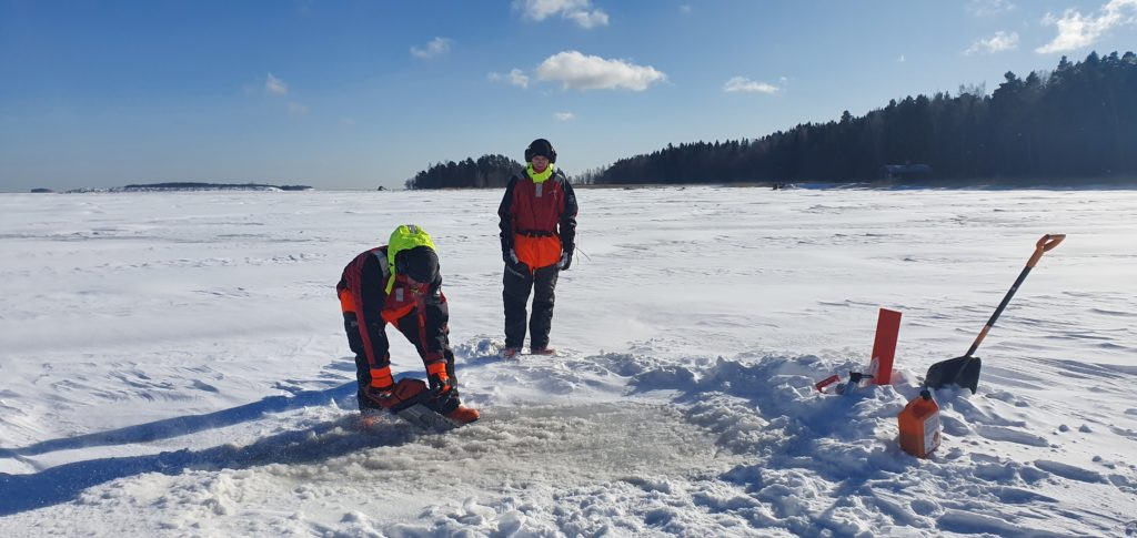 Preparing for the full scale ice trials season